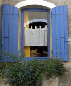 French blue. A favorite color of mine like my garden chairs.