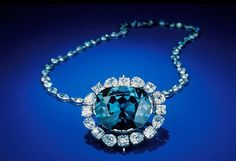 The Hope Diamond - It is so old that no one knows exactly when it was discovered. However, it already had an owner in 1668, in the person of an Indian slave who claimed that the 112 carats stone (which he believed to be a sapphire) came from the eye of an idol. Jean Baptiste Tavernier, a traveler and a gem merchant bought it and sold it afterwards to King Louis XIV of France. Its price today is estimated at $250 million.