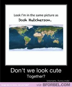 Oh look, I'm in the same picture as Josh Hutcherson as well!!! And Jennifer Lawrence and Liam Hmsworth!