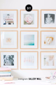 This Instagram Gallery Wall Will Inspire You to Do Something With Your iPhone Photos