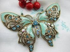 I would love a butterfly brooch