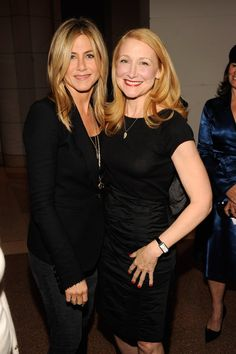 Pin for Later: Birthday Girl Jennifer Aniston's Got More Famous Friends Than We Can Count  Jen posed with Patricia Clarkson while hosting the Washington DC screening of her Lifetime film Five in October 2011.