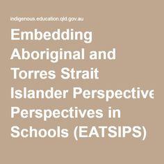Embedding Aboriginal and Torres Strait Islander Perspectives in Schools (EATSIPS)