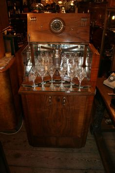 Art Deco Cocktail Cabinet - Antiques Atlas