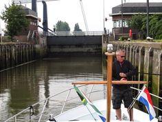 Netherlands Waterway Trip - Entering Julianasluis