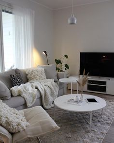 Living Room Kitchen, Living Room Interior, Home Living Room, Living Room Decor, Woman Cave, Dream Apartment, Cottage Interiors, Scandinavian Home, Decoration