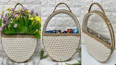 Straw Bag, Macrame Colar, Rope Crafts, Jute, Diy, Bags, Craft Box, Necklaces, Handbags