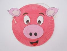 """piggy mask for """"Hamming it Up"""""""
