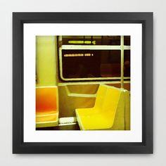 metro v.2 Framed Art Print by trebam - $30.00
