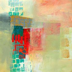 Acrylic Painting - Pattern Study #2 by Jane Davies