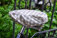 Fahrradsattelbezug Regenbezug fürs Fahrrad