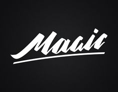 """Check out new work on my @Behance portfolio: """"Magic lettering"""" http://be.net/gallery/44530687/Magic-lettering"""