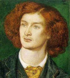Dante Gabriel Rossetti - Algernon Charles Swinburne, 1861, | Swinburne was born April 5th 1837. Happy birthday to L'Enfant terrible of Victorian poetry!
