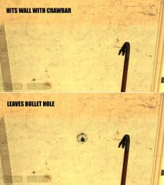 half life 2 logic...funny how good they were with minute details, yet this slipped past them