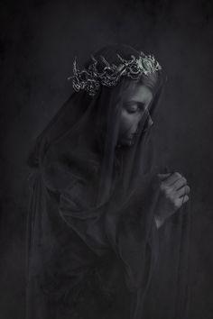"https://flic.kr/p/JyH9pq | Solitude | ""The Veil"" Series  Model - Arts & Odds Crown - Hysteria Machine  Photography - Laura Sheridan's Art"