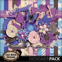Faint Dusk - Perfect to scrap those precious memories from the end of your most delightful days, when night starts overcoming day... or those faint memories, that escapes us as time goes by. http://www.mymemories.com/store/designers/Lisa_Rosa_Designs/?r=lisa_rosa_designs