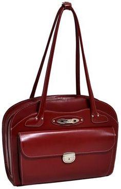 McKlein Lyndon - leather handbag for notebook