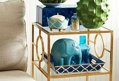 Charming accents for any room.  One Kings Lane - HGTV: Build Your Room