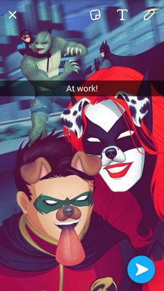 Damian and Kate feat. Batman,Killer Croc,Nightwing by mariananaca on DeviantArt
