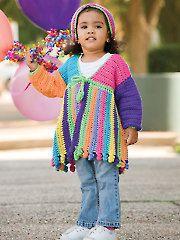 $6.99 Annie's Crochet - Crochet Scrap Jacket & Hat - #885202