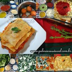 Para o #jantar de domingo uma receita mega saborosa, fácil, nutritiva e saudável, é a Lasanha de Espinafre e Ricota!  #Receita aqui: http://www.gulosoesaudavel.com.br/2012/01/06/lasanha-espinafre-ricota/