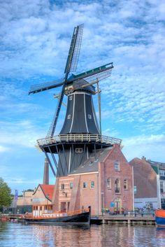 De Adriaan windmill, Netherlands