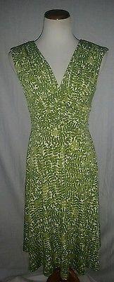 Jones New York Botanical Print Lined Dress 6