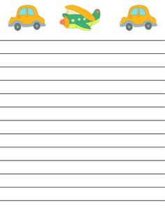 regular lined free printable stationery for kids, regular lined free printable kids writing paper
