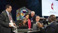 NPR News: United Methodists Face Fractured Future Bible Interpretation, Social View, Liberal And Conservative, Church News, Old Churches, What Is Positive, General Conference, The Unit, Face