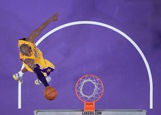 Kobe laying it in!