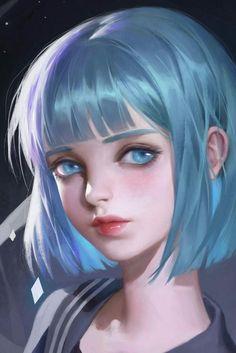 [Brothers Conflict] By Julie-Ai - Annonce - Wattpad Digital Art Girl, Digital Portrait, Portrait Art, Digital Art Anime, Anime Art Girl, Manga Art, Anime Girls, Manga Anime, Fantasy Kunst