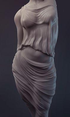 Some cloth practice sculpts mostly based on ancient sculptures. Anatomy Sculpture, Art Et Design, Greek Statues, Ancient Greek Sculpture, Sculptures Céramiques, Anatomy Art, Stone Sculpture, Art Reference Poses, Erotic Art