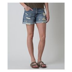 KanCan Boyfriend Short ($60) ❤ liked on Polyvore