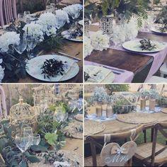 Mesas madera rústica  Alquiler para tu boda o evento