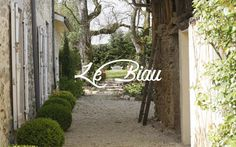 Le Biau / Brand Identity. Logo and photography for a family rub a chambre d'hôte (bed and breakfast) in a stunning 16th century farmhouse in the south of France.