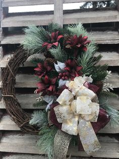 Holiday Wreaths, Christmas Decorations, Winter Wreaths, Spring Wreaths, Diy Wreath, Grapevine Wreath, Country Wreaths, Outdoor Wreaths, Christmas Trends