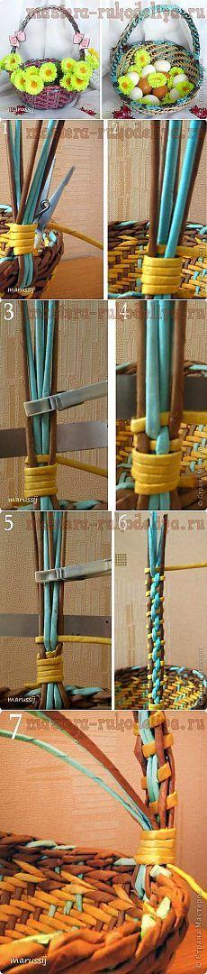 Плетение ручки. МК | Золотые Руки