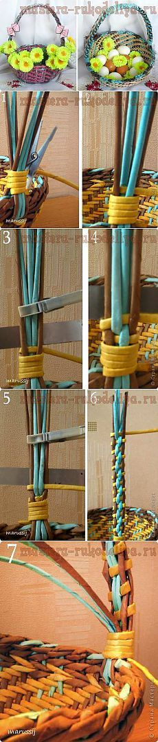 Плетение ручки. МК   Золотые Руки