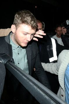 James Arthur Photos - BYLINE: EROTEME.CO.UK.James Arthur leaving Whisky Mist nightclub in London. James was pictured with what appears to be lipstick on his cheek. - James Arthur Out in London 2