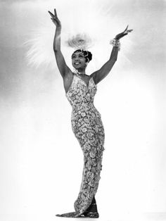 Josephine Baker is so sexy in clothes and even in her famous banana skirt