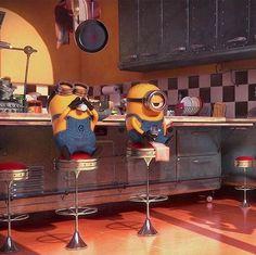@Nor Syafiqah Lego Minion, Minion Rush, Cute Minions, Minions Despicable Me, My Minion, Minions 2014, Minion Stuff, Minion Characters, Universal Studios Japan