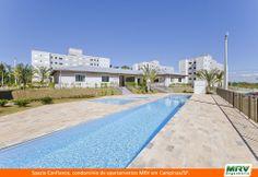 Paisagismo do Confiance. Condomínio fechado de apartamentos localizado em Campinas / SP.