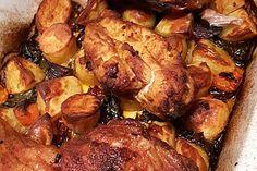Portugiesisches Hähnchen aus dem Ofen 14