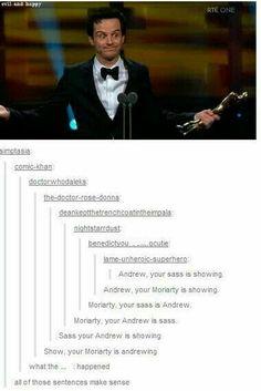 Andrew Scott. ♡♡