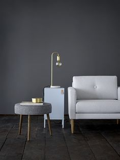 Monochrome Living Room - Interior Design Ideas