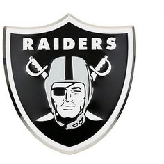 NFL Oakland Raiders 3 D Color Logo Auto Emblem By Team ProMark Tickets