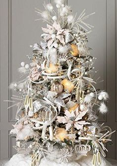 "RAZ Imports - Enchanted Whimsy - 4.5"" Ballet Slipper Christmas Tree Ornaments - Set of 2"