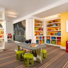 Would love this for my home daycare/preschool when we have kids! Kids Play Area School Daycare Design, Pictures, Remodel, Decor and Ideas / love the feel.
