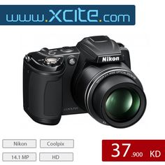 Today's Deal Nikon Coolpix L310 - Black Click the below link  عرض اليوم الكاميرا من نيكون-اللون الأسود    https://www.xcite.com/photography/cameras/semi-pro/coolpix-l310.html