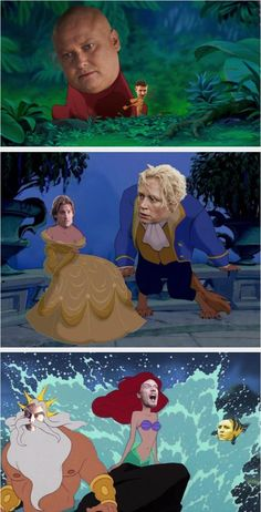 WTFotoshop: Disney/Game of Thrones. Maybe Ramsey Snow will be Eric.